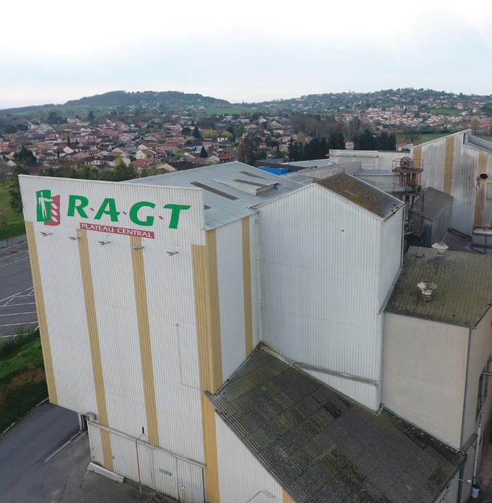 CP - Incident à l'usine d'aliments d'Albi RAGT Plateau Central
