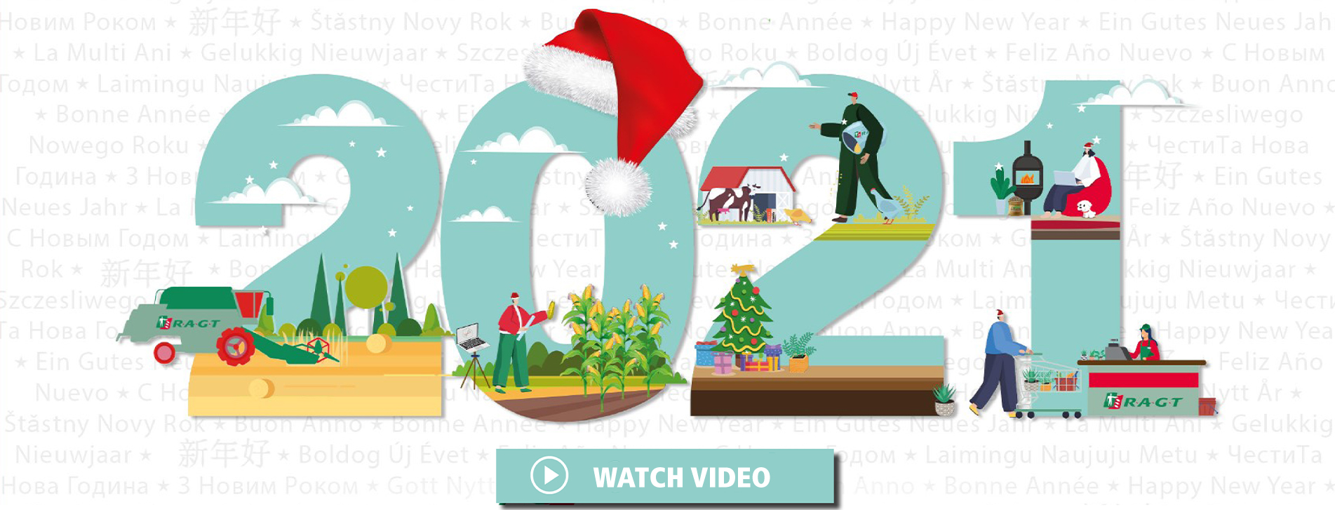 Watch video happy new year 2021 RAGT Group