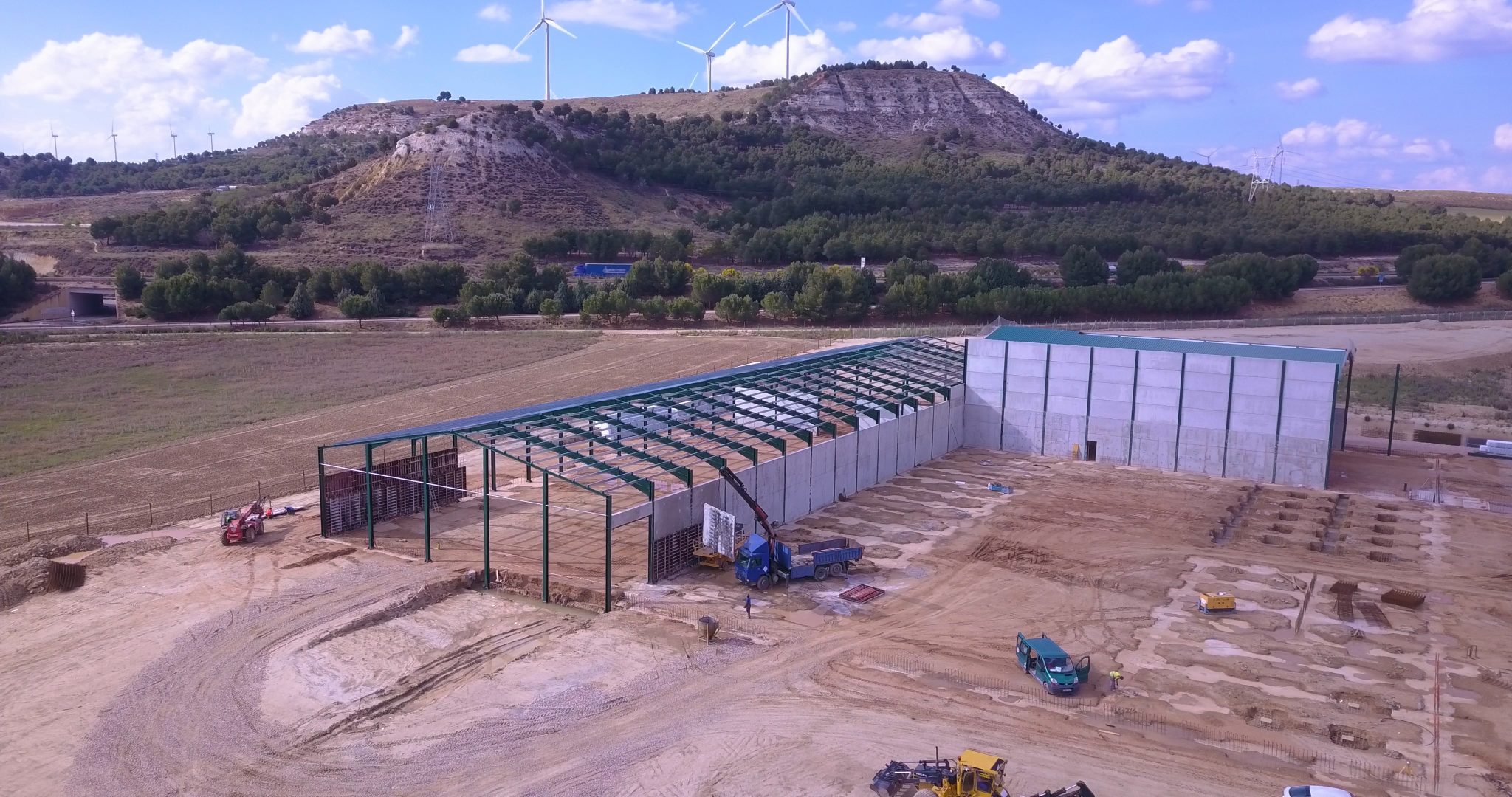 Espagne : la future usine de RAGT sort de terre